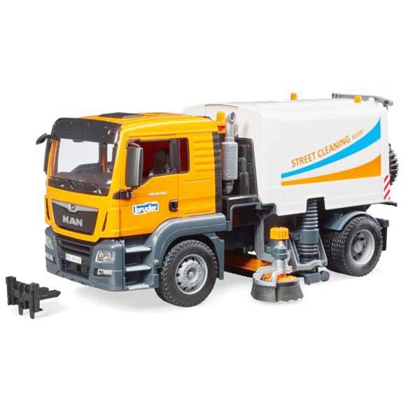 משאית ניקוי כביש ורחובות