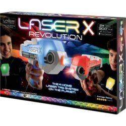 זוג אקדחי לייזר איקס רבולושין Laser X