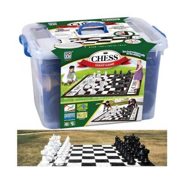 משחק ענק שחמט/דמקה