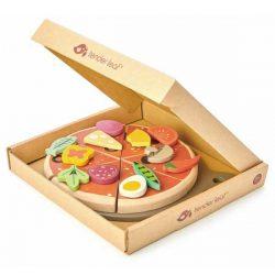 מגש פיצה מעץ-Tender Leaf Toys